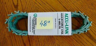 Accu Link A134l 12 Link V-belt 4 Foot Long - Adjustable Link
