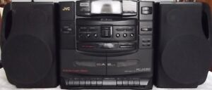 JVC PC-XC50 Active Hyper Bass portable 6cd changer Boom Box