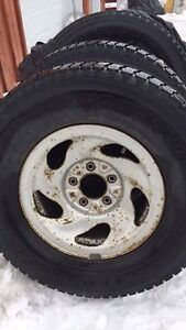 3 pneu yokohama geoland hiver 265-70-16