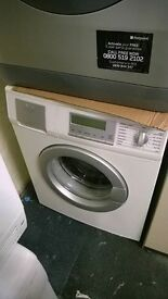 white aeg 6KG 1600 spin digital washing machine