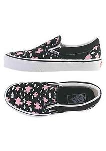 VANS-CLASSIC-WOMENS-PINK-SHOES-WHEN-PIGS-FLY-VINTAGE-5