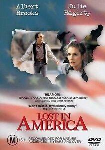Lost In America (DVD, Region 4) Albert Brooks - Brand New, Sealed