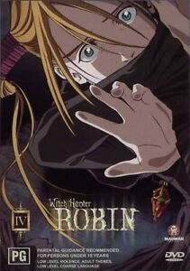 Witch Hunter Robin - Fugitive : Vol 4 (DVD, 2004)VGC Pre-owned (D90)
