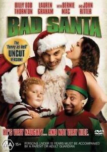 BAD-SANTA-Region-4-DVD-Billy-Bob-Thornton-Lauren-Graham-New-Sealed-Free-Post