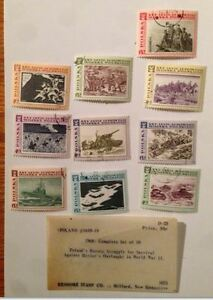 4 sets commemorative stamps from 1968-1972 UNUSED $35, OBO