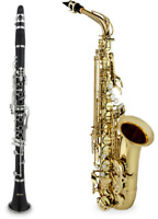 Saxophone & Clarinet Lessons - First Lesson is FREE!