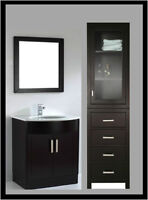 STAND ALONE TOWEL & LINEN CABINETS