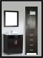 STAND ALONE TOWEL & LINEN CABINETS BESIDE YOUR VANITY