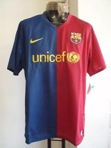 BARCELONA PLAYER ISSUE HOME SHIRT BY NIKE SIZE XXL BRAND NEW WITH TAGS