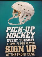 Pick-Up Hockey Players Wanted