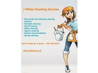 J Whizz Cleaners - Providing end of tenancy, one off cleaning and domestic services.