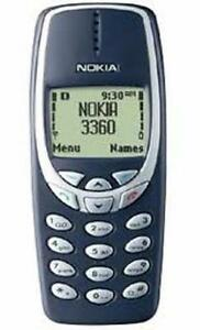 Nokia 3360/3320 for Rogers TDMA Vintage & Collectible