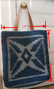 Very Large Knit Tote Bag - New with Tag