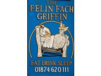 Award Winning Inn with Rooms, The Felin Fach Griffin is looking for a Duty Supervisor