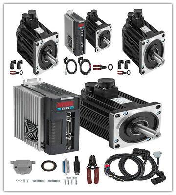 Servo Motor 215nm Ac Cnc Servo Driver Cable Kit For Cnc Milling Electronic