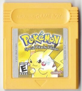 Pokemon gameboy special pikachu edition game