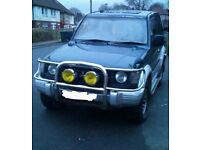Mitsubishi pajero auto 4x4 diesel 4wd swb £1000