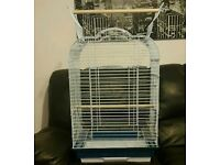 BRAND NEW Large White Bird Cage For Sale [Suitable for Budgie/Cockatiel/Lovebird/Parrot/Canary/Etc]