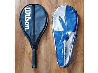 Wilson Federer and Slazenger Henman Tennis Rackets