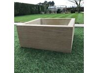 Planters and Raised Beds. Many Sizes And Depths Available