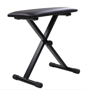 Portable Piano Bench Adjustable Height