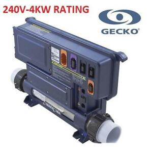 NEW GECKO SPA CONTROL SYSTEM IN.XE-5-11-H4.0 247979748 240V-4KW RATING