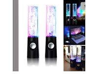 Light water speakers