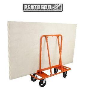 NEW PENTAGON TOOLS DRYWALL CART - 121257606