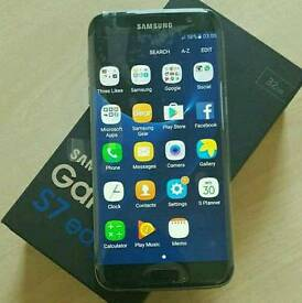 Samsung Galaxy s7edg black unlocked