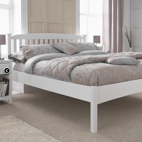 super king bed frame wood white in clapham common london gumtree. Black Bedroom Furniture Sets. Home Design Ideas