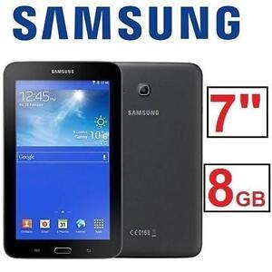 """REFURB SAMSUNG GALAXY TAB E LITE ANDROID TABLET - 8GB - 7"""" - BLACK 105893340"""