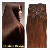 Clip in Human Hair Extensions 100g 15