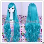 Turquoise Wig