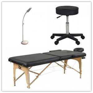 Massage Table (bed)+Magnifying Lamp+Stool(chair) ONLY $210