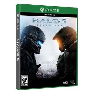Halo 5 game for Xbox one mint