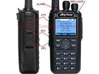 Anytone AT-D868UV Dual Band Analog & DMR Radio