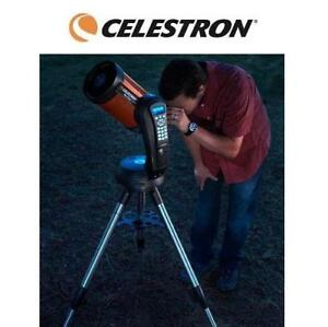 NEW CELESTRON NEXSTAR TELESCOPE 11049 207874963 COMPUTERIZED ORANGE BLACK OBSERVE ASTRONOMY