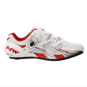 Northwave Venus SBS Womens Road Cycling Shoe White Red Size 38