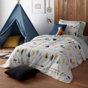 BRAND NEW Kids Duvet Cover Comforter Twin Bed Set Pillow