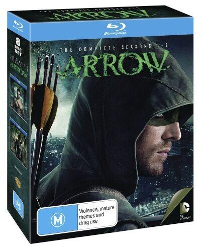 Arrow: Seasons 1 - 2 (8 Discs) * Blu-ray * NEW