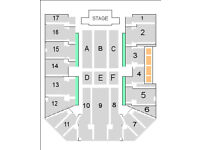 NEIL DIAMOND GENTING ARENA 15.10.17 I have 4 tickets all seated together BLOCK 4 Showdeck Block