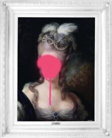 Lady in Pink - Canvas Art | 810mm x 660mm x 40mm