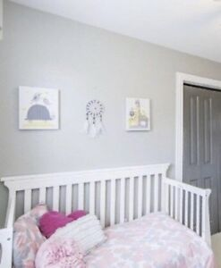 MOVING SALE:  2 Kids Canvas Wallart
