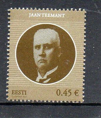 Estonia MNH 2012 Jaan Teemant, 1872-1941