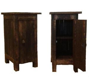 2 Tables de chevets en bois de palette