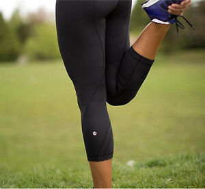 Lululemon Black Run Inspire Leggings!