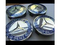 4x NEW Mercedes Benz Classic Centre Caps - High Quality Replacements Can post