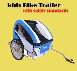 New Kid Child Bike Trailer 2 Seats Suspension... Maylands Bayswater Area Preview