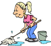 Experienced part time cleaner may lead to full time