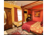 Beautiful edwardian matching wardrobe and drawers /dressing table bedroom set